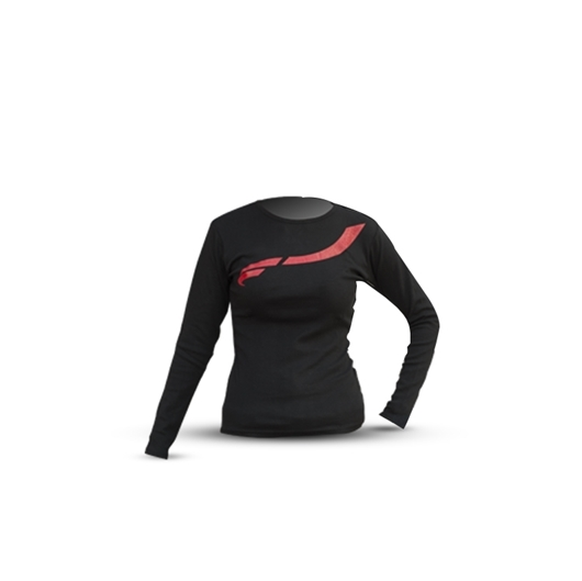 Picture of BLACK LONG-SLEEVED T-SHIRT