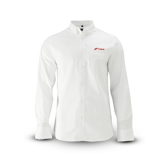 Picture of MEN'S LONG SLEEVE SHIRT, RED LOGO